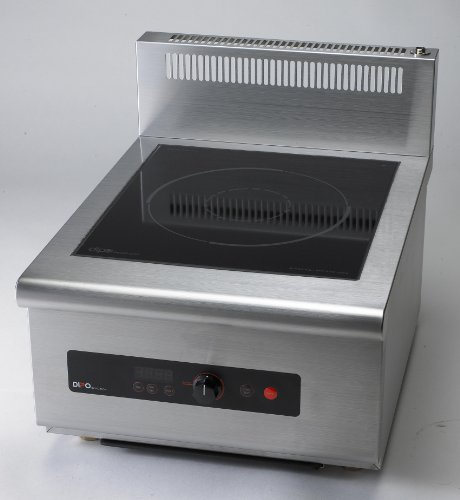 Dipo Tck60-A 6000 Watt 3 Phase Counter-Top Induction Range With Optional External Temperature Probe.