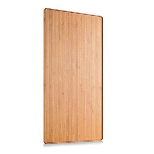 Plateau au design moderne en bambou bois-Grande taille (37x 23x 1,2cm)-samadoyo®