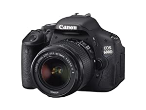Canon EOS 600D Digital SLR Camera (inc. 18-55 mm f/3.5-5.6 IS II Lens Kit)