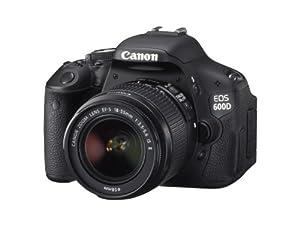 Canon EOS 600D Digital SLR Camera (inc. 18-55 mm f/3.5-5.6 IS II Lens Kit)