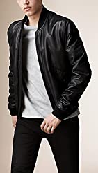 Zayn Leather Men's Leather Jacket (294_WLJ_Black_Large)
