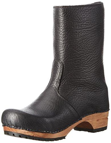SanitaPuk Boot - Stivali a metà polpaccio non imbottiti Donna , Nero (Schwarz (Black 2)), 38
