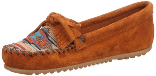 Minnetonka Women's 472K Moccasin,Brown,6.5 M US