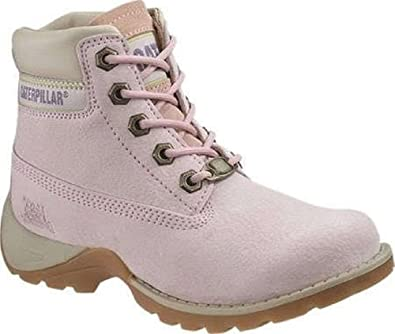 """Caterpillar Barrison Kids 4"""" Inch Ankle Boot Iced Pink 2UK"""