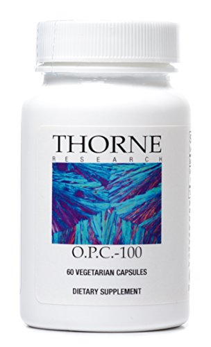 Thorne Research - O.P.C.-100 - Grape Seed Phytosome for Antioxidant Support - 60 Vegetarian Capsules (Pycnogenol Grape Seed compare prices)