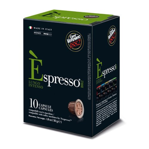 Choose Caffe Vergnano E'Spresso Lungo Intenso Nespresso compatible capsules by Caffe Vergnano