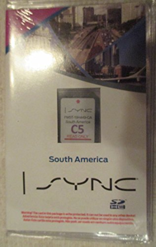 C5 SOUTH AMERICA Ford lincoln Navigation SD card Map Chip,SYNC MyFord Touch ,fits 12,13,14 15 16 Focus Fusion Fiesta C-Max Mustang Taurus Edge Explorer escape F150 F250 F350 FM5T-19H449-CA (Ford Escape Navigation Sd Card compare prices)