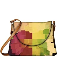 Snoogg Abstract Antique Design Designer Womens Carry Around Sling Bags