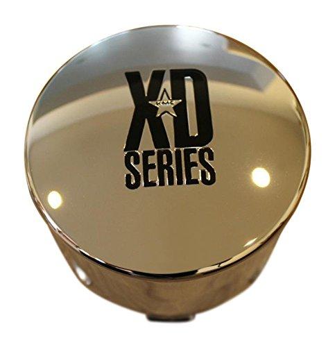 KMC XD Series 122 Enduro 8 Lug Chrome Push Thru Center Cap 1001125 1001342 (Xd Chrome Center Caps compare prices)