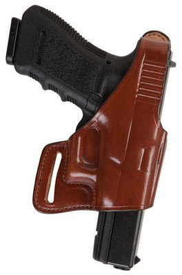 New Bianchi Model 75 Venom Belt Slide Holster Glock 17 19 22 Right Hand Plain Tan Compact Design