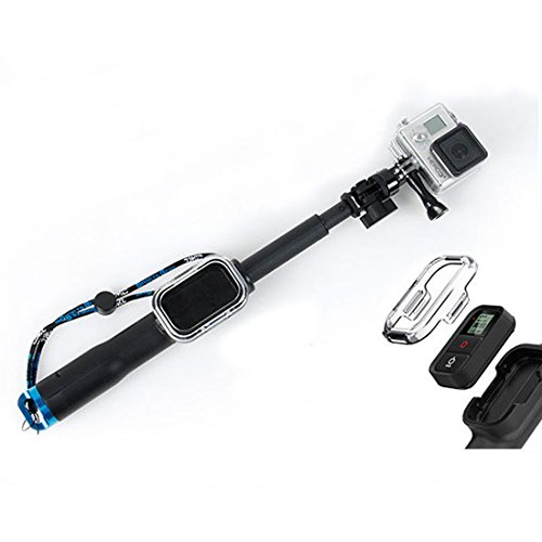 Willtoo(Tm) New Adjustable Remote Pole 23 Inches Monopod Mount For All Gopro Hero 3+ 3 2+ Wristband