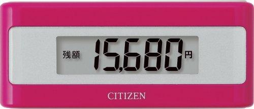 シチズン(CITIZEN) シチズン電子マネービューアー付き歩数計 ピンク TWTC501-PK