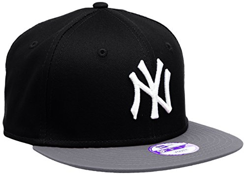New Era New York Yankees 9FIFTY Boys Snapback Cap Black / Grey / White 10880043 (Kids Yankee Hat compare prices)