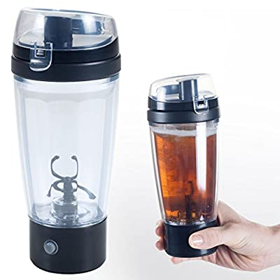Chef Buddy (80-01215A) Double Layer Auto Mixing Travel Mug with Tornado Action