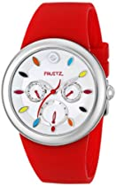 Fruitz by Philip Stein Unisex F43S-TF-R Analog Display Japanese Quartz Red Watch
