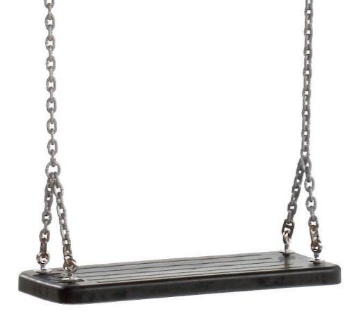 Garden Games - Columpio de caucho con cadenas de acero