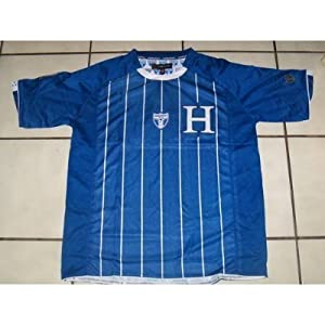 2010 SOUTH AFRICA WORLD CUP OFFICIALLY LICENSED KIDS HONDURAS SOCCER JERSEY SIZE 12