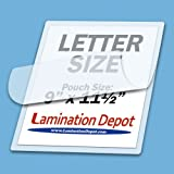 41BnpFWJugL. SL160  5 Mil Letter size 9 x 11 1/2 Laminating Pouches Qty 100 Hot Glossy Thermal Lamination Sheet Laminator Pockets 9x11.5