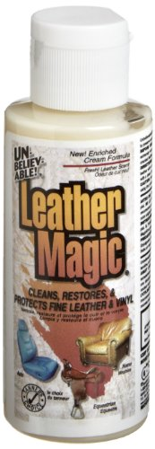 Unbelievable! Ulm-02 2 Oz. Leather Magic Leather & Vinyl Cleaner (Case Of 12) front-414190
