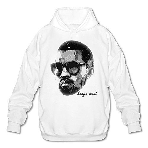 mens-kanye-west-cool-head-portrait-design-hoodie-white-medium