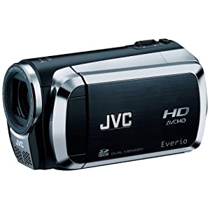 JVC Everio GZ-HM200 Dual SD High-Def Camcorder (Black)