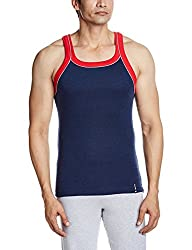 Opex Men's Cotton Vest (B00_W053_Vmw-32_Multi-Coloured_32)