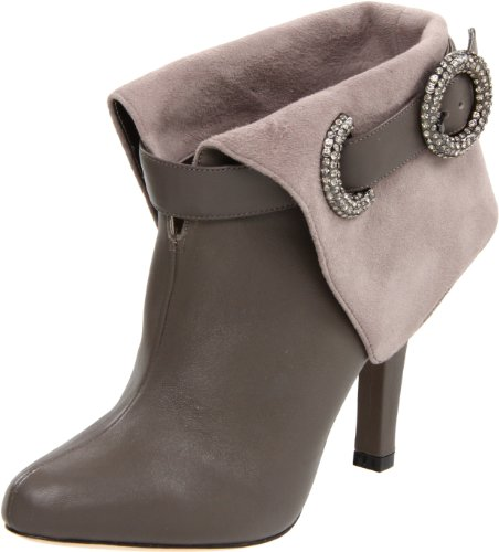 Bourne Women's Victoria Smoke Ankle Boot L08621 7 UK