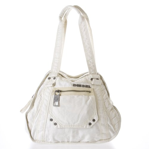 Diesel X Ray 'Darling' Women's Shoulder Bag, Color Light Ecru