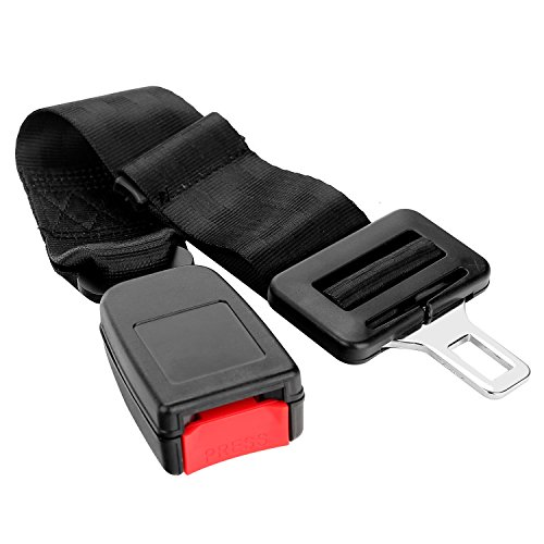 Seatbelt Extender, Danibos Adjustable Safety Belt Extendable Black for Big Man, Pregnant Women, Men with Bulky Equipment Belts