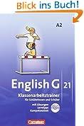 English G 21 - Ausgabe A: Band 2: 6. Schuljahr - Klassenarbeitstrainer mit Lösungen und CD