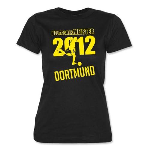 DEUTSCHER MEISTER 2012   DORTMUND   in versch. Farben   WOMEN T SHIRT