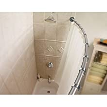 Moen Inspirations Collection Curved Shower Rod