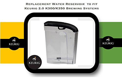 Replacement Water Reservoir for Keurig 2.0 K300 and K350 - 60 oz. (Keurig Water Reservoirs compare prices)