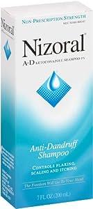 Nizoral AntiDandruff Shampoo, 7-Ounce Bottles