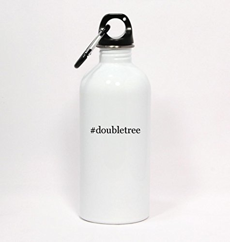 doubletree-hashtag-white-water-bottle-with-carabiner-20oz