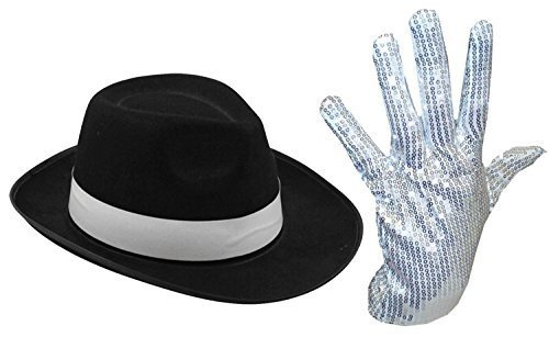 mens-ladies-michael-jackson-silver-sequin-glove-al-capone-hat-70-80s-fancy-dress-silver-gloves-black