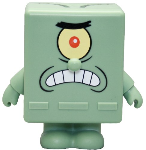 "SpongeBob Plankton Collectible 3"" Vinyl Figure - 1"