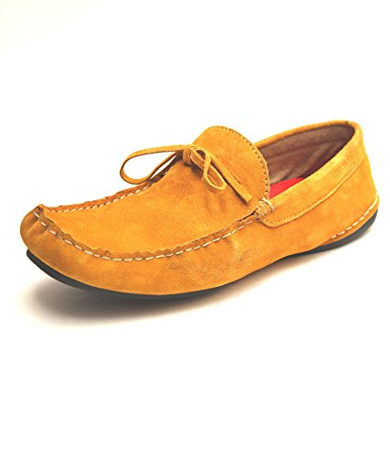 Mustard Guava Mustard Leather Loafer (Yellow)