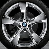 Original BMW Alufelge X4 F26 Sternspeiche 311 verchromt in 20