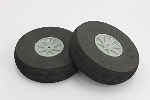RC Plastic Core Sponge Wheels D80mm