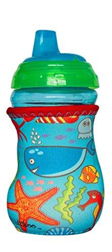 Kidzikoo - #1 Neoprene Baby Bottle/Sippy Cup Insulator Cooler Coozie - Sea Life