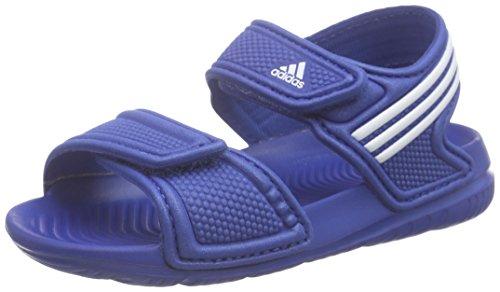 Adidas Akwah 9 i, Scarpe Walking Baby Unisex Bimbo, Multicolore (Eqtblu/Ftwwht/Eqtblu), 21 EU