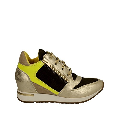 Osey - Sneaker zeppa oro giallo - 40, Gold