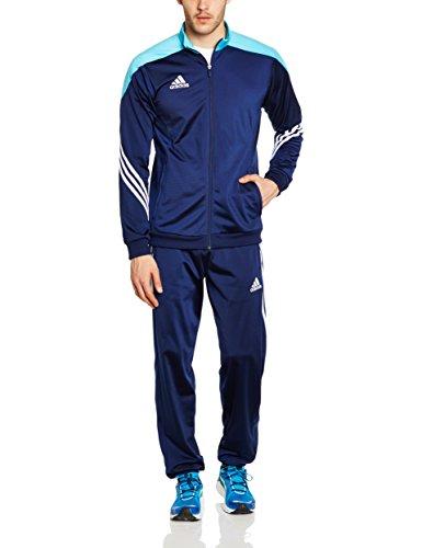 Adidas Sere14 Pes Suit Tuta da Ginnastica, Blu, L