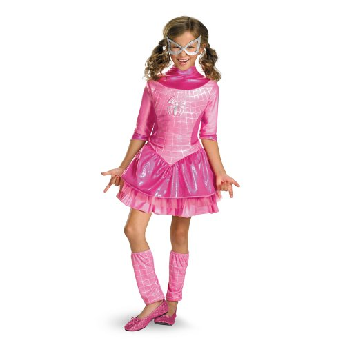 Marvel Spider-Girl Deluxe Costume, Pink, X-Small