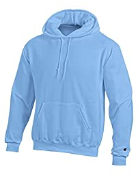 Champion Double Dry Action Fleece Pullover Hood - Large, Light Blue