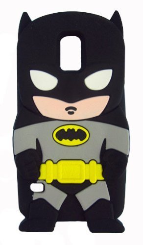 VOCOX 3D Batman Silicone Jelly Soft Skin Case Cover for Samsung Galaxy S5 I9600 (Batman) Xmas Gift at Gotham City Store