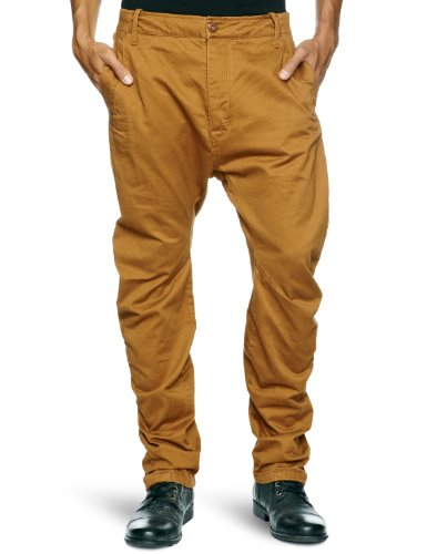 G Star Cl Bronson Chino 3D Loose Tapered Men's Trousers Oxide Ocre W34INxL32IN