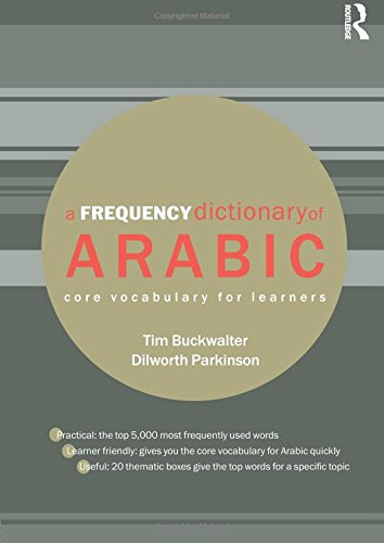 A Frequency Dictionary of Arabic: Core Vocabulary for Learners (Routledge Frequency Dictionaries)