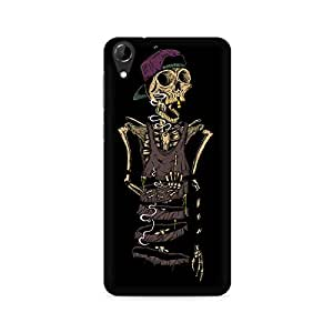 Mobicture Skull Abstract Premium Printed Case For HTC Desire 728